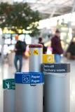 Poubelles Photos libres de droits