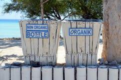 Poubelles de déchets Images libres de droits
