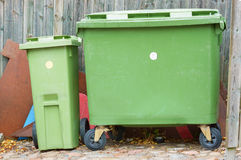 Poubelles de Grabage Photo stock