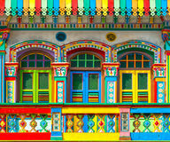 Pouca Índia, Singapura fotografia de stock royalty free