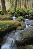 Pouca cachoeira Fotografia de Stock