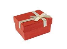 Pouca caixa de presente vermelha Foto de Stock Royalty Free