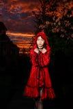 Pouca capa de equitação vermelha foto de stock royalty free