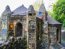 Pouca capela, ilha de Guernsey, ilhas channel Fotografia de Stock