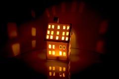 Pouca casa Fotografia de Stock