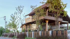 Pouca casa do café da floresta Imagem de Stock