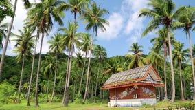 Pouca casa na ilha de Koh-Chang, Tailândia vídeos de arquivo