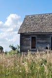 Pouca casa na pradaria de Kansas Imagem de Stock