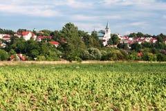 Pouca cidade em Europa Foto de Stock