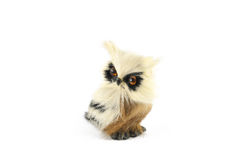 Pouca coruja do brinquedo Fotografia de Stock Royalty Free