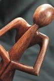 Pouca estatueta da ioga Imagens de Stock