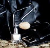 Pouca garrafa de perfume Imagem de Stock Royalty Free