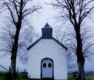 Pouca igreja Fotografia de Stock