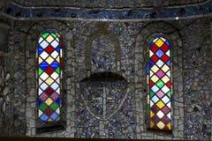 Pouca igreja da capela na ilha de Guernsey, Reino Unido foto de stock royalty free