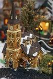 Pouca igreja do Natal. Fotografia de Stock Royalty Free