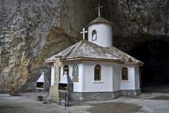 Pouca igreja em Romania fotos de stock