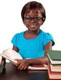 Pouca menina africana da escola Imagens de Stock Royalty Free