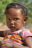 Pouca menina de Himba, Namíbia Fotografia de Stock