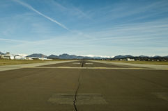 Pouca pista de aterragem Fotografia de Stock Royalty Free