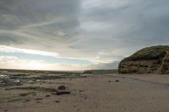 Pouca praia vazia Foto de Stock Royalty Free