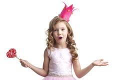 Pouca princesa dos doces Imagens de Stock
