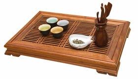 Pouca tabela para o chá Fotos de Stock Royalty Free