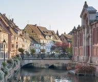 Pouca Veneza em Colmar Imagens de Stock Royalty Free