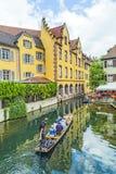 Pouca Veneza em Colmar, França Fotos de Stock Royalty Free