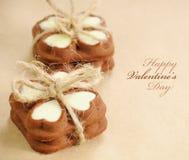 Poucas cookies do presente Foto de Stock Royalty Free