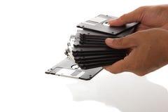3 5' pouce à disque souple Photo libre de droits