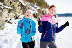 Pouces sportifs de filles  Image stock