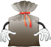 A pouch bag Royalty Free Stock Image