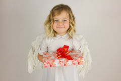 Pouco anjo Foto de Stock
