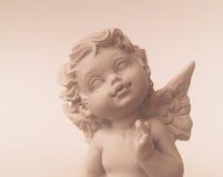 Pouco anjo asas branco Foto de Stock Royalty Free
