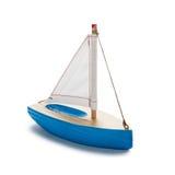 Pouco barco do brinquedo Fotografia de Stock Royalty Free