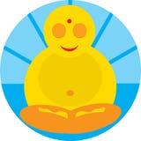 Pouco Buda Imagens de Stock