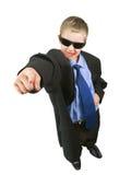 Pouco businessman-1 Fotos de Stock