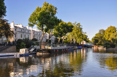 Pouco canal de Veneza em Londres Fotografia de Stock Royalty Free