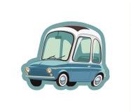 Pouco carro azul Fotos de Stock