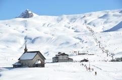 Chappel em Melchsee-Frutt, Switzerland Imagens de Stock Royalty Free