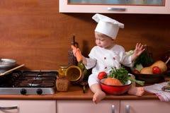 Pouco cozinha Foto de Stock Royalty Free