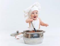 Pouco cozinha. Imagem de Stock Royalty Free