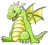 Pouco dragão ilustração royalty free