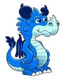 Pouco dragão Imagem de Stock Royalty Free