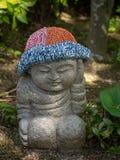 Pouco estátua da Buda no  de DaishÅ - no templo, Japão fotografia de stock
