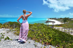 Pouco Exuma, Bahamas fotos de stock royalty free