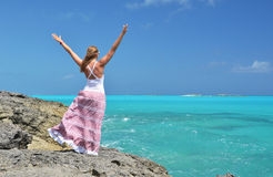 Pouco Exuma, Bahamas imagens de stock royalty free