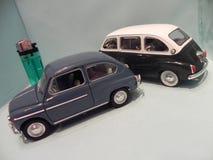 Pouco Fiat 600 Foto de Stock Royalty Free