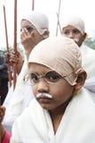 Pouco Gandhi Foto de Stock Royalty Free
