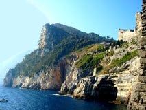 Pouco golfo sob o castelo de Doria foto de stock royalty free